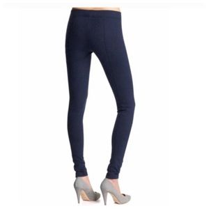 VINCE Thick Navy Ponte Leggings Pants Small